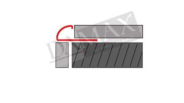 C Profile Viertelkreisprofile V2A DAMAX