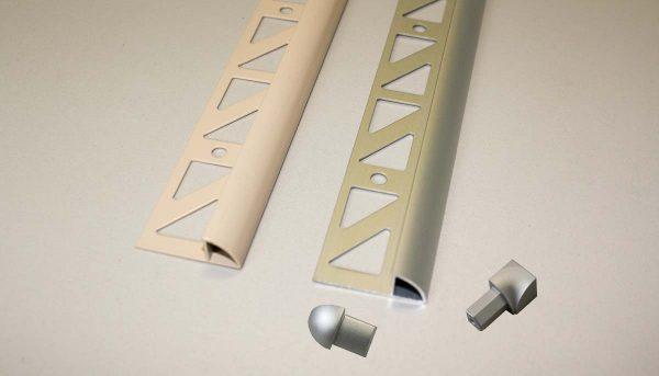 DAMAX-C Viertelkreisprofile Aluminium
