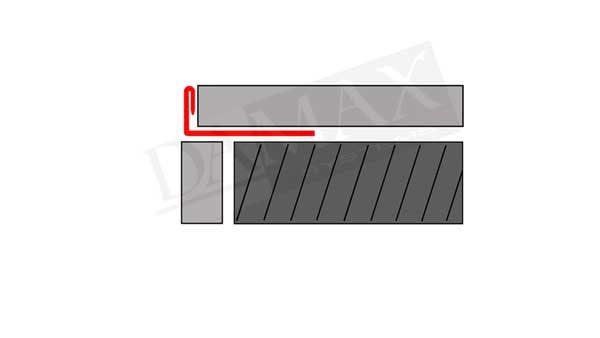 L Profil Winkel Profil V2A Skizze