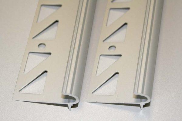 DAMAX-STG Treppenprofile Florentiner Aluminium