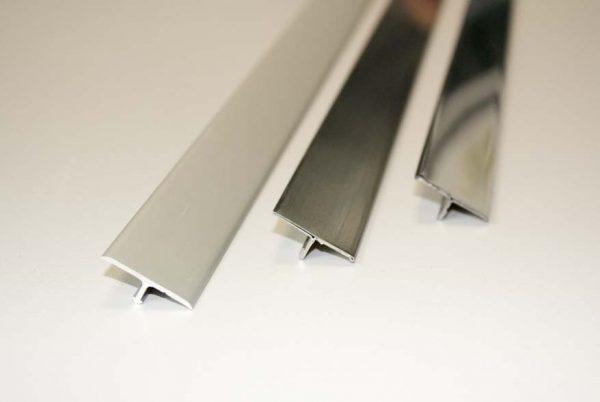 DAMAX-T Trenn und Abdeckprofile Aluminium und Edelstahl