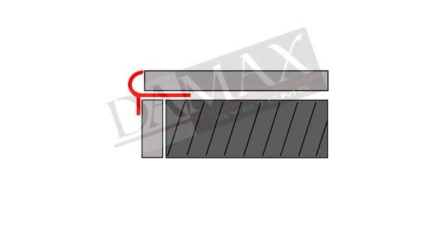 STG Profile Treppenprofile V2A DAMAX