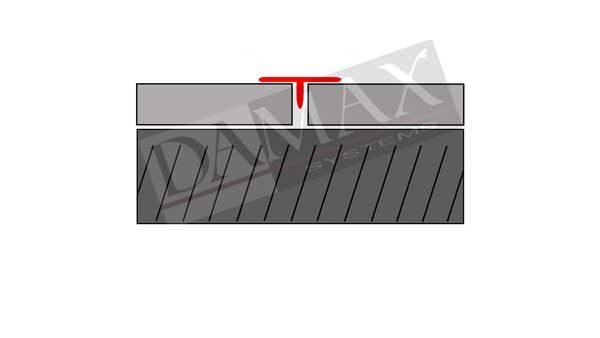 T-Profile Trenn und Abdeckprofile DAMAX